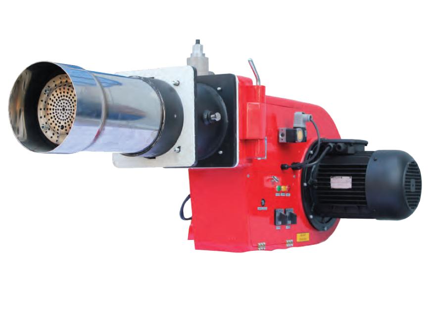 URET GAS BURNERS 300 – 1775 kW