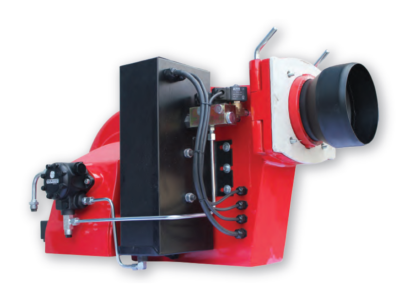 20-110 kg/h Single Stage Fuel Oil Burners