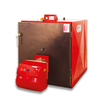 ASSF Liquid-Gas Fuel Prismatic Type Three Transitive Doublex Heating Boiler - General Features